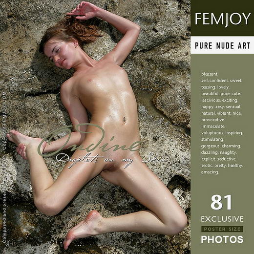Ondine - `Droplets On My Skin` - by Valery Anzilov for FEMJOY