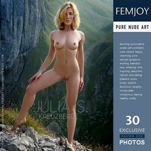 Julia S - `Kreuzberge` - by Stefan Soell for FEMJOY