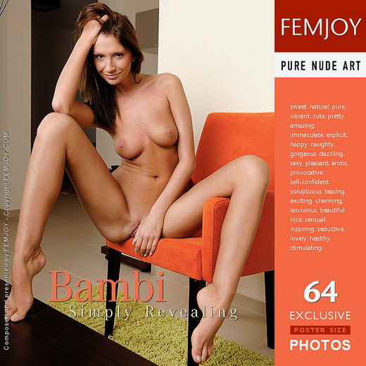 Bambi - `Simply Revealing` - by Andi Polver for FEMJOY