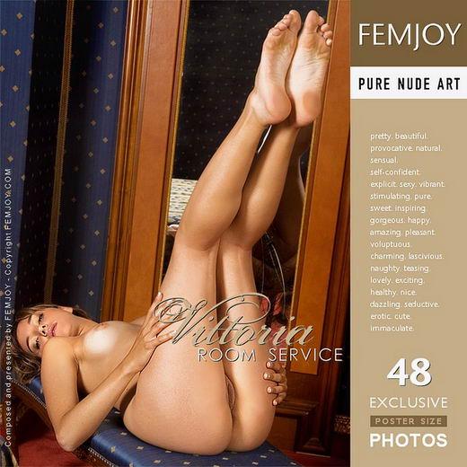 Vittoria - `Room Service` - by Lorenzo Renzi for FEMJOY