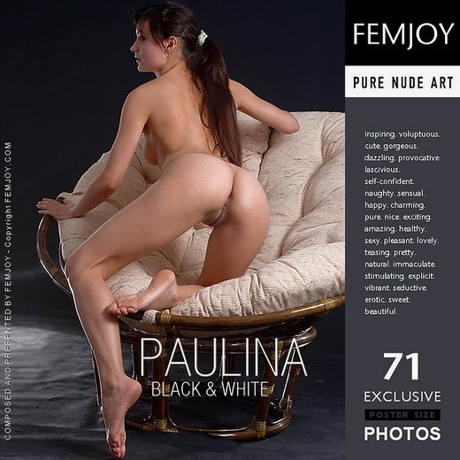 Paulina - `Black & White` - for FEMJOY