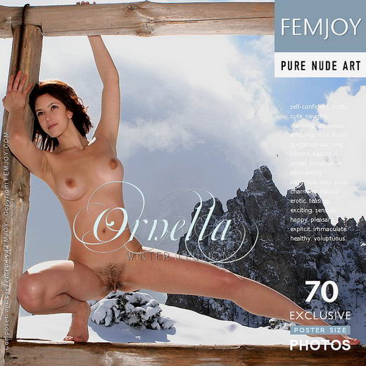 Ornella - `Winter Illusions` - by Valery Anzilov for FEMJOY