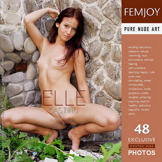 Elle - `Casting` - by Jan Svend for FEMJOY