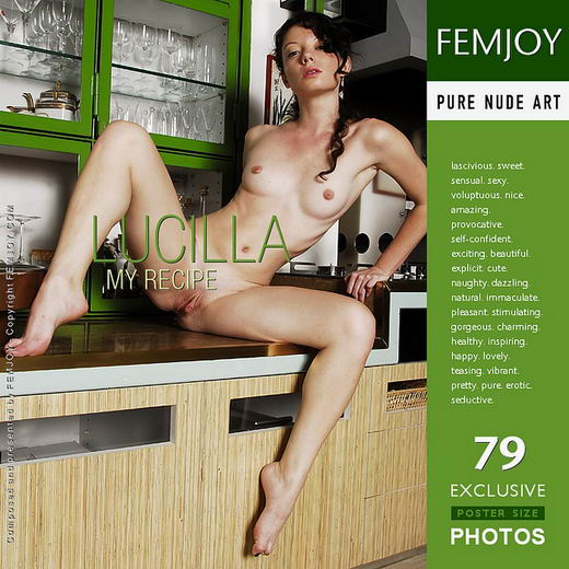 Lucilla - `My Recipe` - by Pedro Saudek for FEMJOY