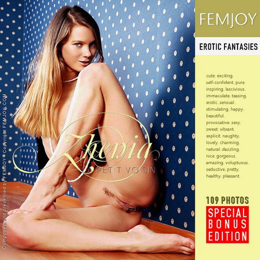 Zhenia - `La Petit Voisin` - by Skokov for FEMJOY
