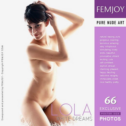 Lola - `White Dreams` - by Tadeuz Jalocha for FEMJOY
