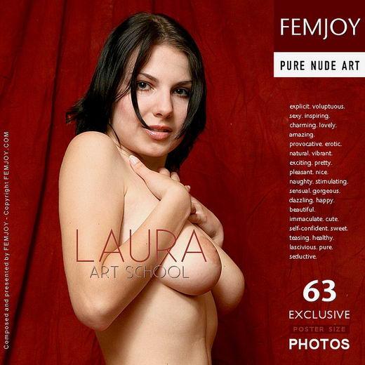 Laura - `Art School` - by Peter Vlcek for FEMJOY