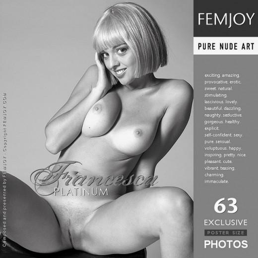 Francesca - `Platinum` - by Lorenzo Renzi for FEMJOY