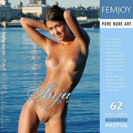 Anja - `Dark Blue Water` - by Alexander Fedorov for FEMJOY
