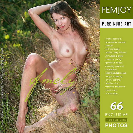 Amely - `Free Spirit` - by Vic Truman for FEMJOY