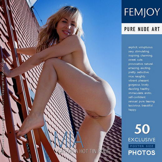 Mia - `Cat On A Hot Tin Roof` - by Demian Rossi for FEMJOY
