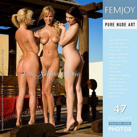 Jane & Olivie & Sabina - `Nevermind` - by Demian Rossi for FEMJOY
