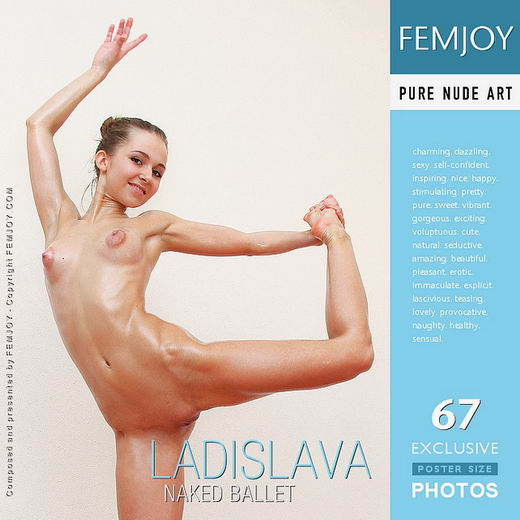 Ladislava - `Naked Ballet` - by Oleg for FEMJOY