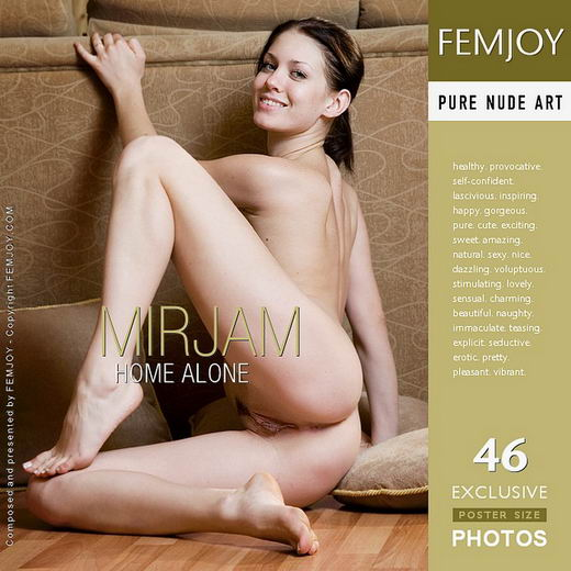Mirjam - `Home Alone` - by FEMJOY Exclusive for FEMJOY