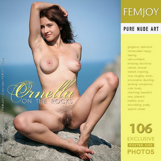 Ornella - `On The Rocks` - by Vic Truman for FEMJOY