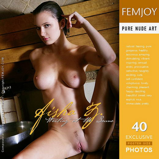 Aisha Z - `Waiting At The Sauna` - by Palmer for FEMJOY