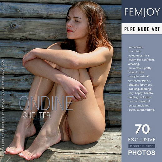 Ondine - `Shelter` - by Valery Anzilov for FEMJOY