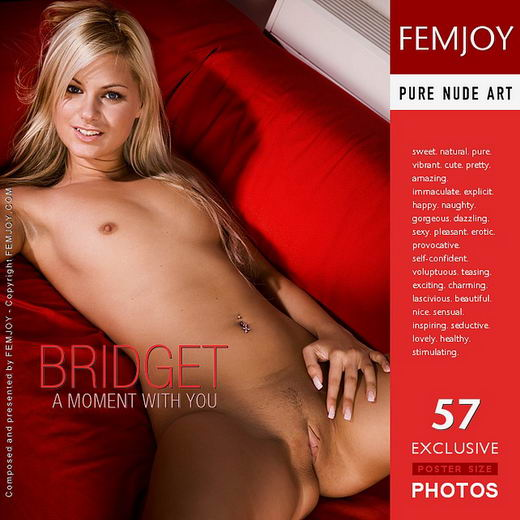 Bridget - `A Moment With You` - by Demian Rossi for FEMJOY