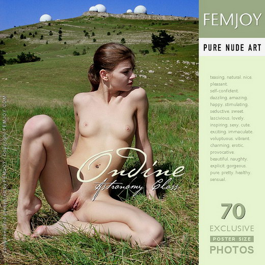Ondine - `Astronomy Class` - by Valery Anzilov for FEMJOY