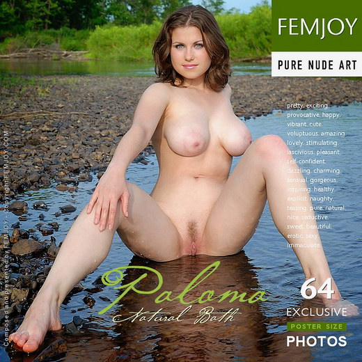 Paloma - `Natural Bath` - by Tom Leonard for FEMJOY