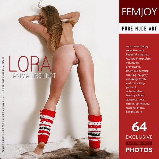 Lora - `Animal Instinct` - by Palmer for FEMJOY