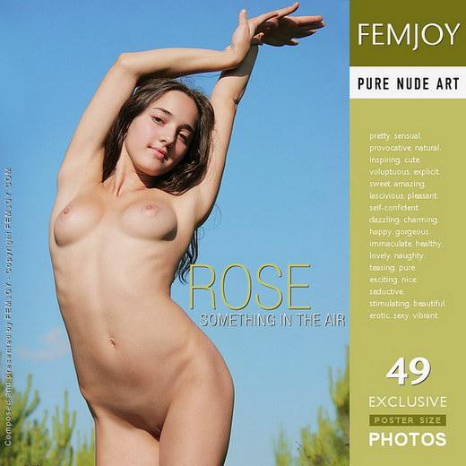 Rose - `Something in the Air` - by Oleg for FEMJOY