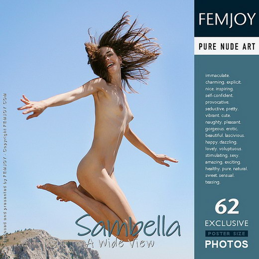 Sambella - `A Wide View` - by Valery Anzilov for FEMJOY