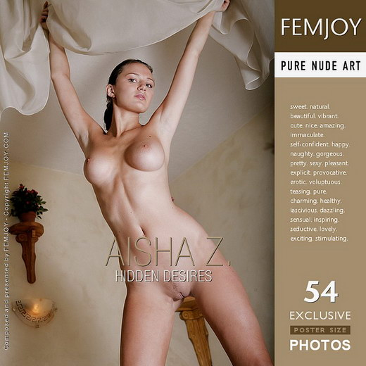 Aisha Z - `Hidden desires` - by Palmer for FEMJOY