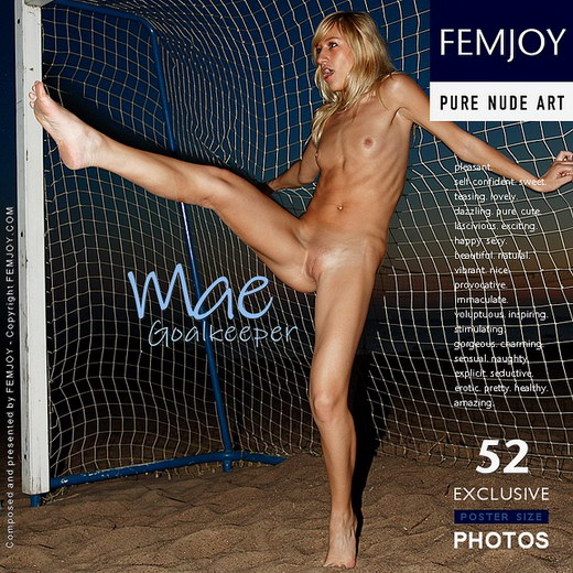 Mae - `Goalkeeper` - by Henry Sharpe for FEMJOY