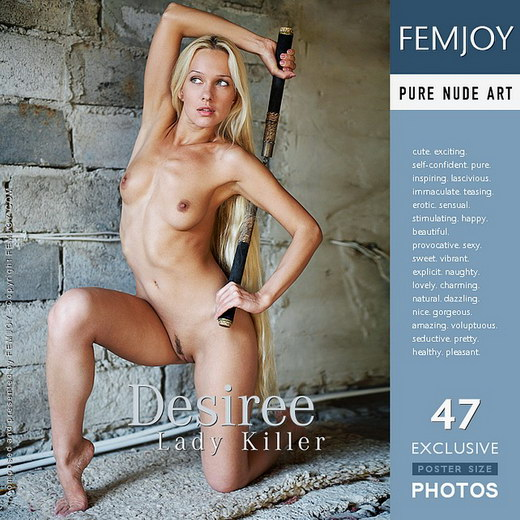 Desiree - `Lady Killer` - by Arev for FEMJOY