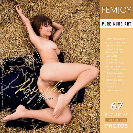 Ksusha - `Hay Fever` - by Demian Rossi for FEMJOY