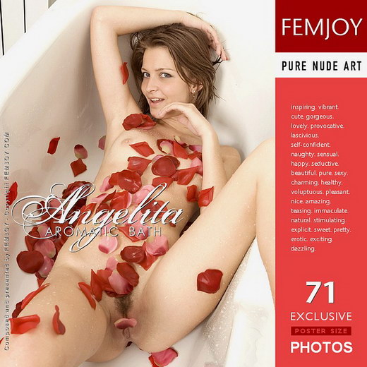 Angelita - `Aromatic Bath` - by Karin Boice for FEMJOY
