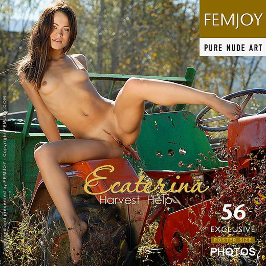Ecaterina - `Harvest Help` - by Jan Svend for FEMJOY