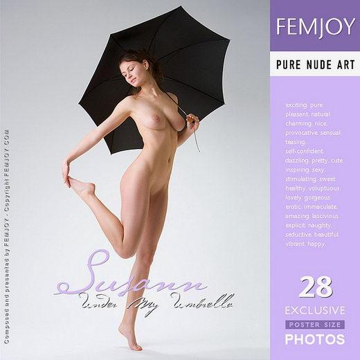 Susann - `Under My Umbrella` - by Stefan Soell for FEMJOY