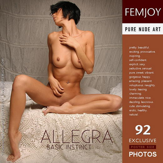 Allegra - `Basic Instinct` - by Pedro Saudek for FEMJOY