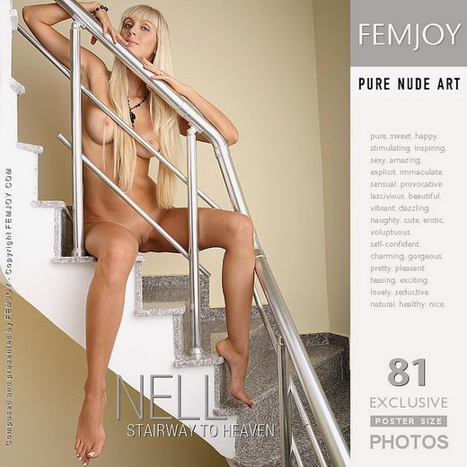 Nell - `Stairway To Heaven` - by Nuart for FEMJOY