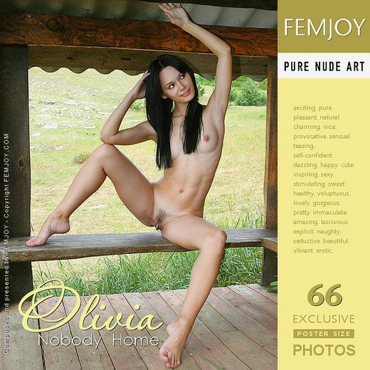 Olivia - `Nobody Home` - by Valery Anzilov for FEMJOY