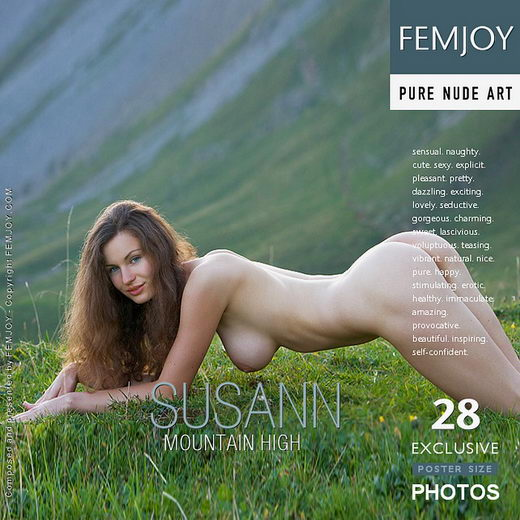 Susann - `Mountain High` - by Stefan Soell for FEMJOY