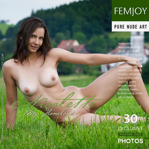 Nicolette - `My Homeland` - by Stefan Soell for FEMJOY