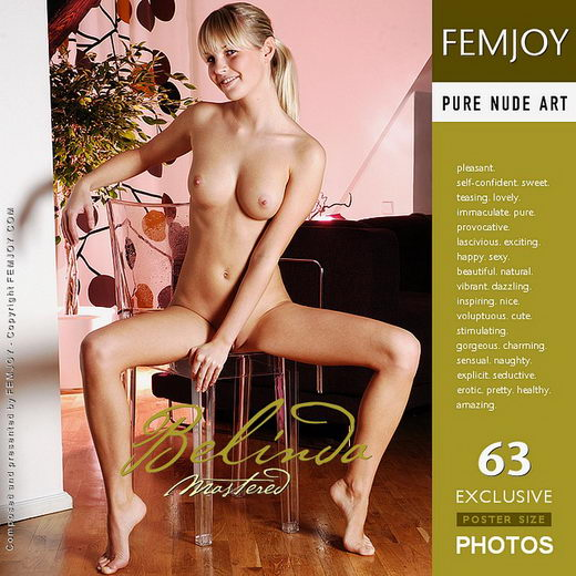 Belinda - `Mastered` - by Pedro Saudek for FEMJOY