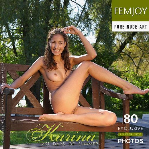 Katarin - `Last Days Of Summer` - by Alexander Gribanov for FEMJOY