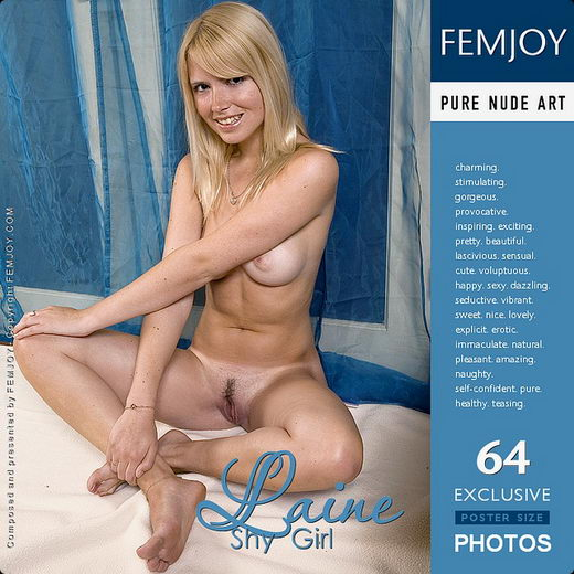 Laine - `Shy Girl` - by Iain for FEMJOY