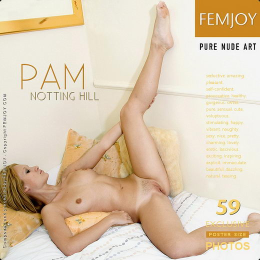Pam - `Notting Hill` - by Iain for FEMJOY