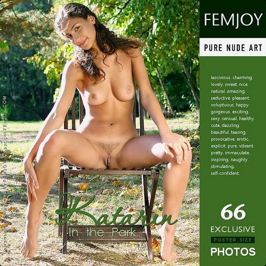 Katarin - `In The Park` - by Alexander Gribanov for FEMJOY