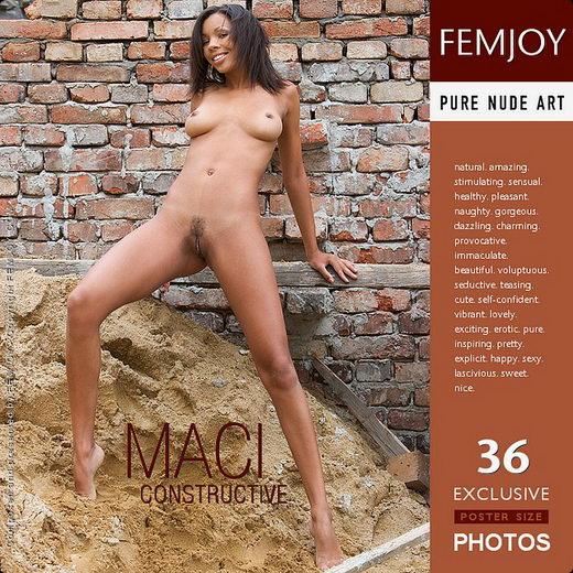 Maci - `Constructive` - by Stefan Soell for FEMJOY
