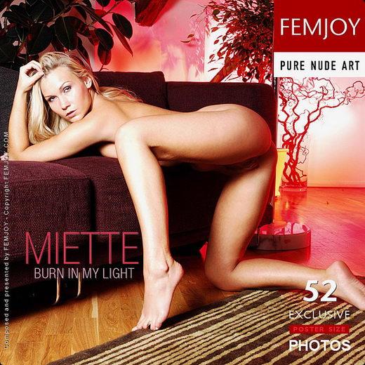 Miette - `Burn In My Light` - by Pedro Saudek for FEMJOY