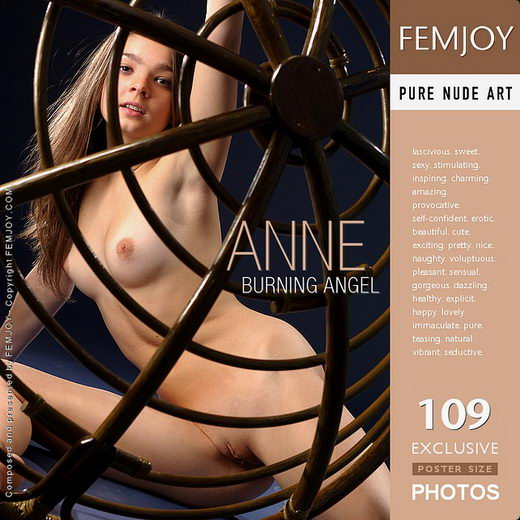 Anne - `Burning Angel` - for FEMJOY