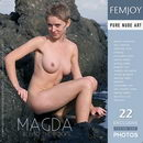 Magda in Behind The Rocks gallery from FEMJOY