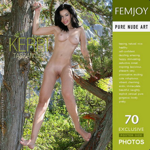 Kerri - `Tarzan Girl` - by Valery Anzilov for FEMJOY