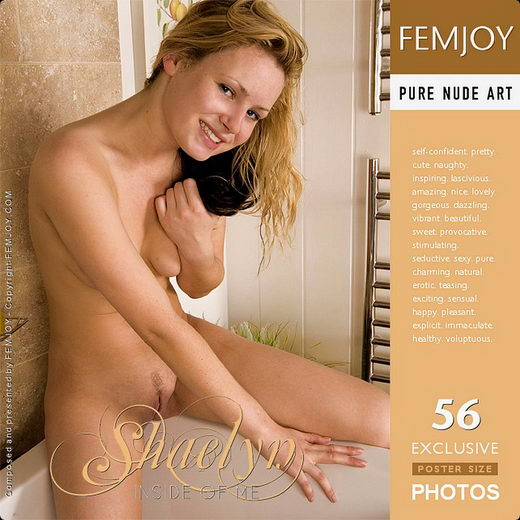 Shaelyn - `New Model - Inside Of Me` - by Iain for FEMJOY